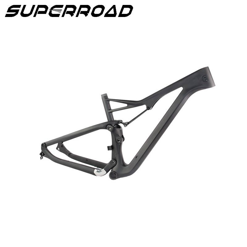 carbon fiber mountain bike frame