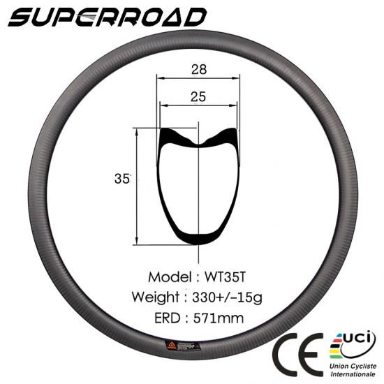 Road Bike Tubular rims