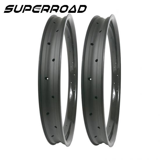fat bike carbon rims